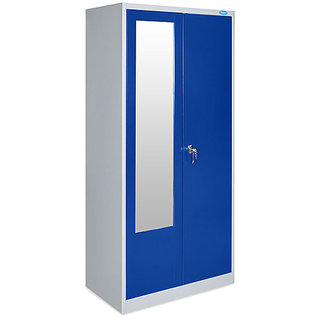 Godrej Steel Kapat Almirah Blue Color 6ft Double Door Buy Godrej Steel Kapat Almirah Blue Color