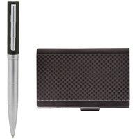 Combo of S-13 Stylish Designer Pen + Metallic Card Holder
