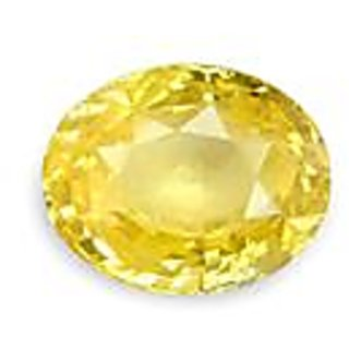 Jaipur gemstone 4.25  carat yellow sapphire(pukhraj)
