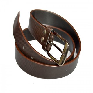 Men Brown Formal Belt