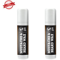Pack of Two BEARDO Mustache  Beard Wax Stick - 4g