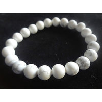 Howlite Power Bracelet 8MM