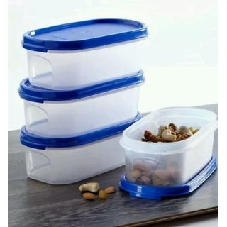 Tupperware Modular Mate Oval Storage Container Set of 4