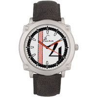 Jack Klein Round Dial Black Strap Elegant Anlong Watch For Men