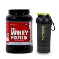 Medisys Whey Protein Chocolate - 1kg (Free Shaker)