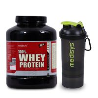 Medisys Whey Protein Chocolate - 2kg (Free-Shaker)