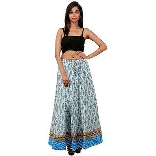 Gurukripa Shopee Elegant Multicolor Cotton Printed  Skirt GKS00-23