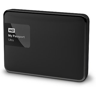 Western Digital 1 TB Wired External Hard Drive(Black, External Power Required)