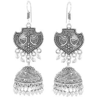 Silver Shop Metal Earring Jhoomki
