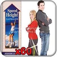 Speed Height Herbal Capsules Pack Of 60 Cap.