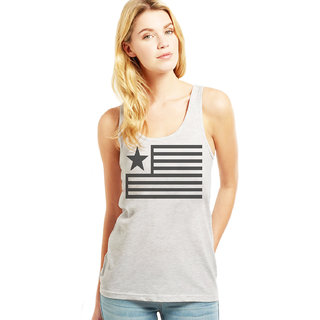 Altamoss Casual Sleeveless Womens Printed grey Top