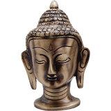 Brass Buddha Head- Big