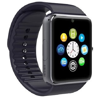 YGS GT08 Bluetooth Smart Watch with SIM Card Slot And NFC Cell Phone Watch Phone Remote Camera Pedometer Tracker Watch for Apple iPhone 6 Plus-Black