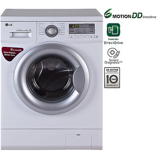 LG FH0B8NDL21 6KG Fully Automatic Front Load Washing Machine