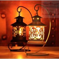 Tea Light Candle Holder Moroccan Style with stand