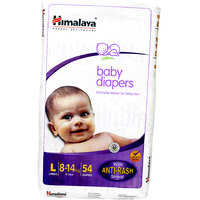 Himalaya Baby Large Size Diapers (54 Count)