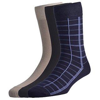 3 Pair Mens Long Socks