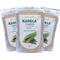 NutriLeon Karela Powder For Diabetes Add 100gm (Pack Of 3)