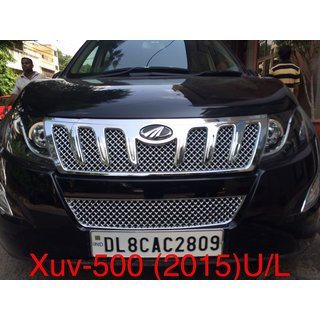 Xuv500 front grill chrome plated Bentley style 2015,2016