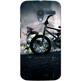 Snooky Digital Print Hard Back Case Cover For Motorola Moto X