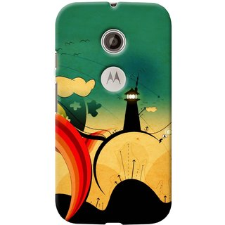Snooky Digital Print Hard Back Case Cover For Motorola Moto E 2nd gen