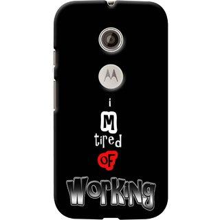 Snooky Digital Print Hard Back Case Cover For Motorola Moto E 2nd gen