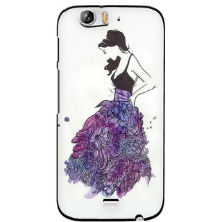 Snooky Designer Print Hard Back Case Cover For Micromax Canvas Turbo A250