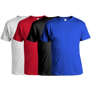 Awesome-Creative-Pack-of-1-Round-Neck-Cotton-Mens-T-Shirt