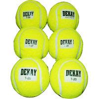 Green Tennis Cricket Ball Pack of 6