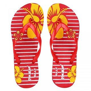 Bersache Red-341 Women/Girls Slippers