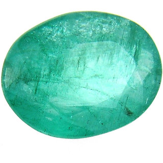 MANGLAM RAJ RATAN 7.95 Ratti Certified Natural Emerald Gemstone