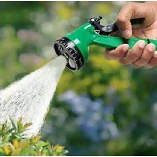 Water Spray Gun 10 Meter Flat Hose For Garden Pet Car Washing Jet Spray Gun