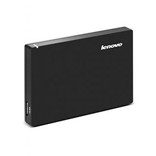Lenovo F308 1 TB External Hard Disk Black