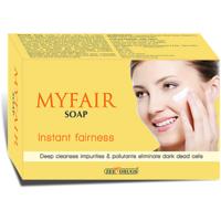 My fair instant fairness soap(set of 10 pcs.)75 gms each
