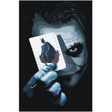 Joker From The Dark Night Movie Poster - Option 2