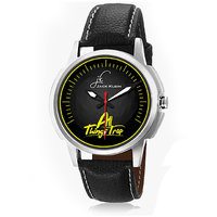 Jack Klein Stylish Graphic Leather Analog Watch For Men, Women