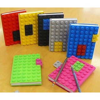 Smart Diary Lego Notebook Block Silicone Lego Notebook By Flinstop