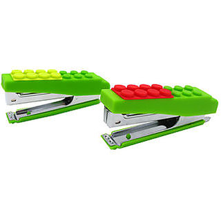 Smart Stylish Easy to Carry Block Lego Stapler by Flintstop
