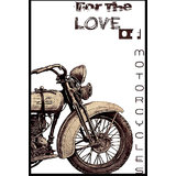 For The Love Of Motorcycles Poster
