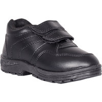 Velcro Black School Shoes