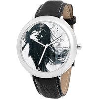 Jack Klein 1205 Graphic Black Casual Anlong Watch For Men ,Women