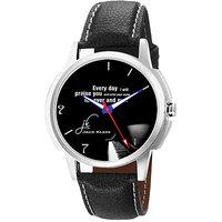 Jack Klein 1212 Graphic Analog Black Dial Designer Watch For Men,Women