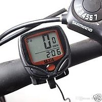 Aeoss Waterproof Digital LCD Bicycle Computer Odometer Speed meter Bike 14 Functions (A256)