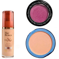 X Factor Foundation (Blush), Silk On Face Compact (Blush)  Diamond Blush on 501