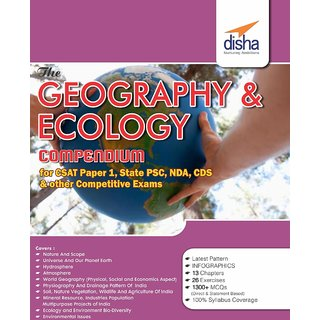 The Geography and Ecology Compendium for CSAT Paper 1  State PCS  CDS  NDA  other Competitive Exams