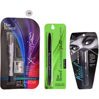 Line Design Sketch Eyeliner , Xpression Eye Shadow Pencil 02  Innocence Kajal