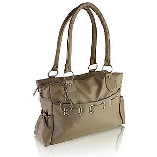 Clementine Grey PU Handbag sskclem44