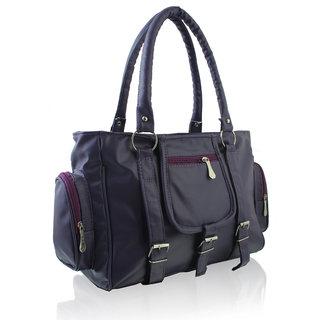 Clementine Purple PU Handbag sskclem74