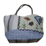 Eco-friendly Ladies Hand Bag purple 1102