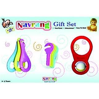 Baby Rattle Gift Set
